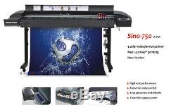 High Quality 60 Large Wide Format Printer Sino-750+RIP, USB, For Indoor & Outdoor