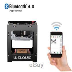 High Speed 1500mW Bluetooth USB Laser Engraver Cutter Carver Engraving Machine