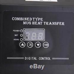 High pressure Heat Press Photo/metal/T-shirt Sublimation Transfer Machine 220V