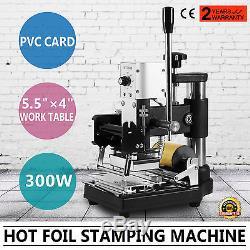 Hot Foil Stamping Machine Tipper Stamper Bronzing Card Foil Logo Embossing