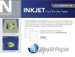 Inkjet Heat Transfer Paper for Dark Color Neenah 3G Jet Opaque 8.5x11-10 shts #1