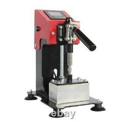 LCD Touch Duel Heated Heating Plates Rosin Heat Press Machine 600W 2.4 x 4.7