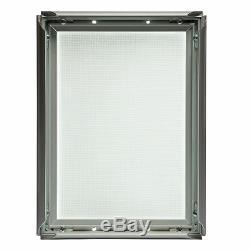 LED Leuchtrahmen DIN A1 Leuchtkasten Leuchtdisplay Klapprahmen einseitig
