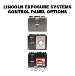 Lincoln 20x24 ES3 Exposure Unit Burn Box Exposer Exposing System with Free Gift
