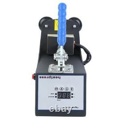 Mini Rosin Heat Press Machine 2x3 Hand Crank Dual Heated Plates Handheld 110V