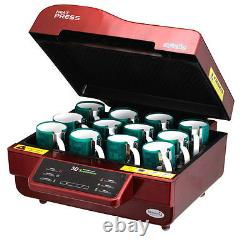 Multi-functional 3D Vacuum Sublimation Heat Press Machine Kit For Phone Case Mug