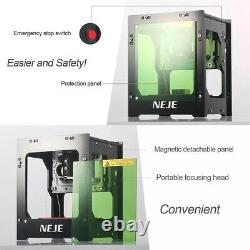 NEJE DK-8-KZ 3000mW Professional DIY Desktop Mini CNC Laser Engraver Cutter