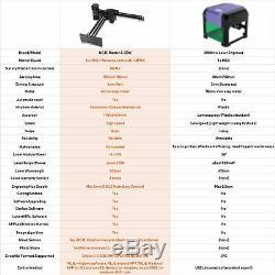 NEJE Master 2 20W CNC Laser Engraving Milling Machine Engraver Cutter Printer