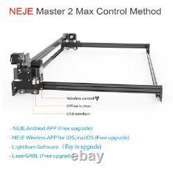 NEJE Master 2S max 30W USB CNC Laser Engraver Marking Machine Wood Cutter DIY