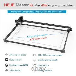 NEJE master 2s max 40W CNC laser engraving cutting machine laser cutter engraver