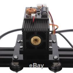 NEW 15W DIY Laser Engraving Machine Metal Steel Iron Stone Engraver Printer FAST