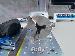NEW 50W Raycus Fiber Laser Marking Machine Metal cutting Engraving CNC Steel DIY