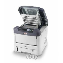 NEW OKI C711WT Digital Color & White Toner Printer on Transfer Media