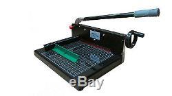 NEW SG 198 Guillotine Paper Cutter Professional Stack Paper Cutter Machine