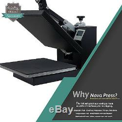 NV-15 15 Heat Press Machine for Vinyl, Rhinestone, Heat Transfer Paper & More