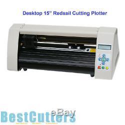 New 15 Redsail Mini Desktop Cutting Plotter Vinyl Sticker Cutter RS500C