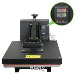 New 15 X 15 CLAMSHELL HEAT PRESS T-SHIRT Digital TRANSFER SUBLIMATION MACHINE