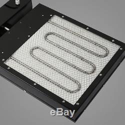 New 16x16 Flash Dryer Silkscreen T-shirt Printing Curing Adjustable Height DIY