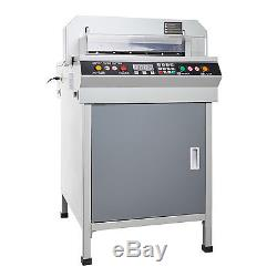 New 18 Electric Paper Guillotine Cutting Machine Stack Paper Cutter Heavy Duty