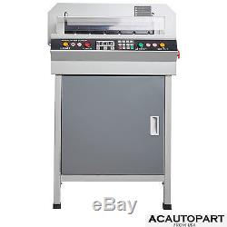 New 18 Guillotine Cutting Machine Office Electric Stack Paper Cutter Heavy Duty