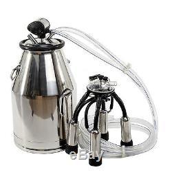 New Cow Milking Equipment -Cow-Milker-304-Stainless-Steel-Milk-Bucket