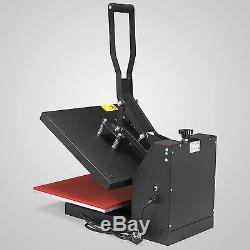New Heat Press Transfer Digital Clamshell 15 x 15 T-Shirt Sublimation Machine
