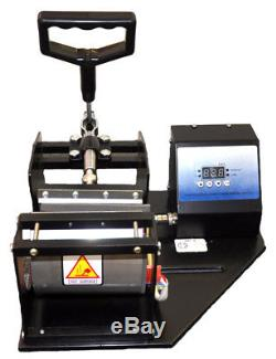 New Mug Cup Heat Press Machine, Epson Printer CISS Set, Transfer Paper, Mug Package