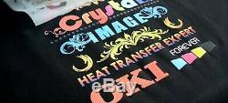 Oki White Toner T Shirt Heat Transfer Printer & Rip C811wt C831wt, As Pro8432wt