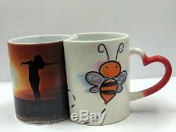 PC UNIVERSAL SUBLIMATION BUNDLE WITH PRINTER, 5-IN-1 HEAT PRESS & T-SHIRT, Mugs