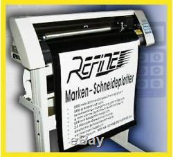 PROFI Schneideplotter v REFINE EH 720 mm &ArtCut 2009 NEU jetzt inkl USB WIN 10
