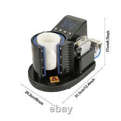 Pneumatic Mug Heat Press Machine Automatic Cup Heat Transfer Sublimation Machine