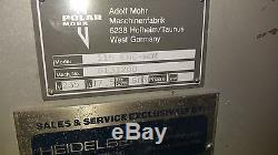 Polar Cutter 115 EMC 45 Guillotine