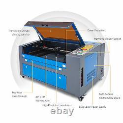 Preenex 60W 24 ×16 CO2 Laser Engraver Cutter Engraving Cutting Machine Ruida