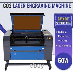 Preenex 60W 28 × 20 CO2 Laser Engraver Cutter Cutting Engraving Machine Ruida
