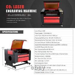 Preenex 60W 28×20 CO2 Laser Engraver Cutter Motorized Workbed Ruida Autofocus