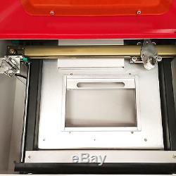 Premium 40W CO2 Laser Engraving Machine 12x 8 Cutter USB Port