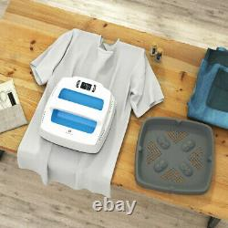Prensa Termica De Calor Para Transferir Diseños A Camisetas Ropa Bolsos Y Mas