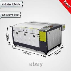 RUIDA 80W Co2 Laser Engraving and Cutting Machine With Motorized Table 16''x24'