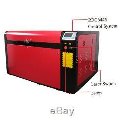 Reci 100W Laser Engraving Cutting Machine CO2 Engraver Cutter Ruida RDC6445 New