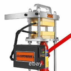 Refurbished 4 Ton Heat Press Machine with Dual 3x5 Heated Platens