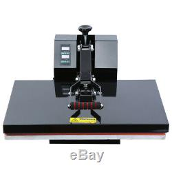 Ridgeyard 16x24 Digital Clamshell Heat Press Transfer TShirt Sublimation Machine