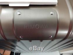 Rimowa Original Cabin Aluminum Multiwheel Carry On Suitcase Titanium