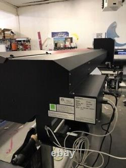 Roland Rf-640 64 Eco-solvent Printer 4-color Cmyk (used)