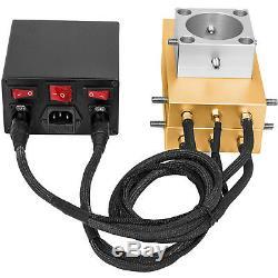 Rosin Press Plate Kit 4x7 Rosin Extractor 4 Heating Rods 10-20 Ton Hydraulic