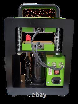 Rosin heat press machine, Strong Built Dual Heat Element 5+ Tons Of Pressure