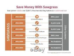 Sawgrass SG500 Virtuoso Printer+CMYK Starter Kit + Design Studio, FREE Shipping