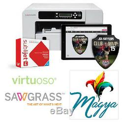 Sawgrass Virtuoso SG400 HD Dye Sublimation Printer NO iNK FREE Delivery