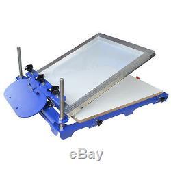 Screen Printing Machine 1 Color Large Silk Screen Printing Press Machine