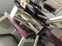 Screen Printing Press 6 Color/4 Station