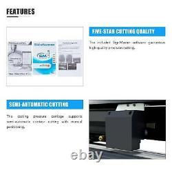 Secondhand Vinyl Cutter Plotter 34 Sign Maker Backlight Usb Port LCD Display